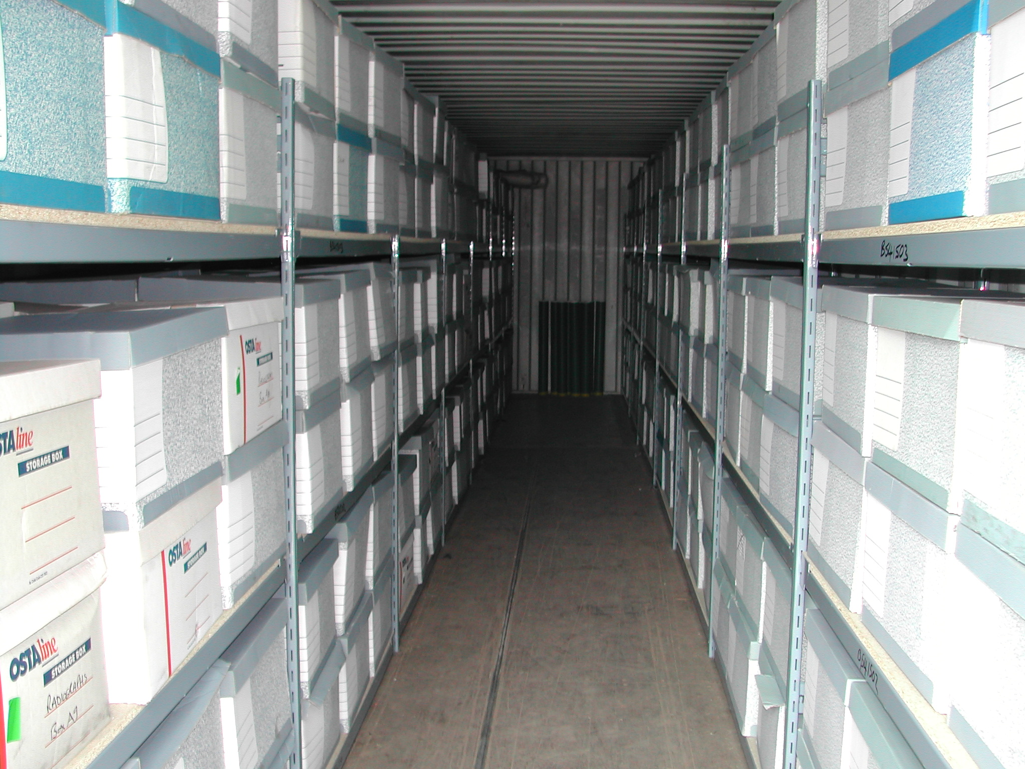 self Storage for document archiving
